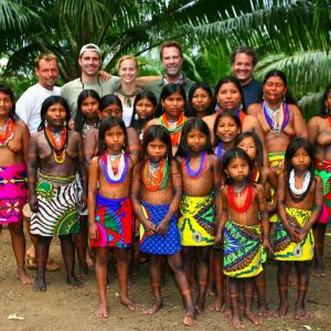 CAVU's Team in Comarca Embera Wounaan